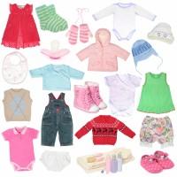 Ventes de vêtements bébé fille