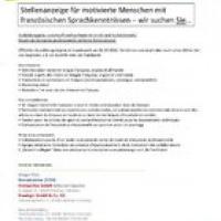 Emploi de formation professionnelle en Vente International.